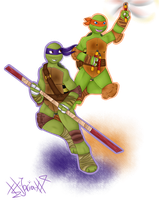 .:TMNT:. B - Team by xX-Jarira-Xx
