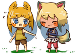chibi style 2 for 20BoxesPotatoSalad by piyoa