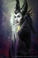Maleficent by Eeddey