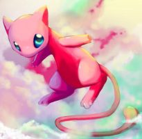 Sky cat MEW by Pand-ASS