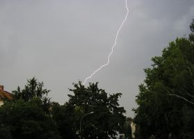 Clear Lightning Bolt by Indiliel
