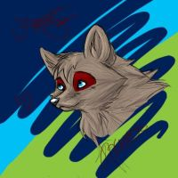 Random Wolfy on Photoshop by Joava
