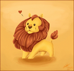 Little Lion by NattiKay