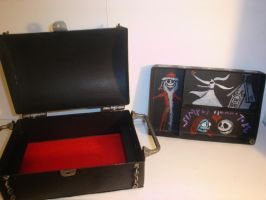 Jack Skellington lock box opened by pyramidhead22