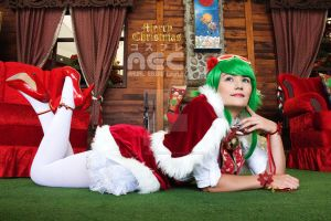 Christmas time! with Gumi by Arual-Ebiru-Secrag