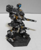WHM-6R Warhammer for Steel Raven, Side by TheCentipede