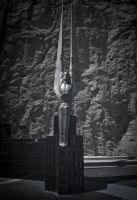 Angel at Hoover Dam by CharlesEagan