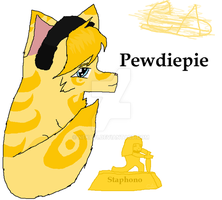 Pewdiepie As a wolfy o.o by Neka31