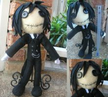 His Butler, the Plushie by Chocolate-Shinigami