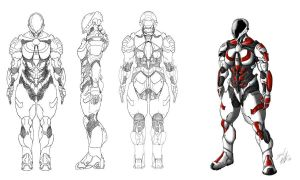 Coalition Armor Female Variant by David-the-North