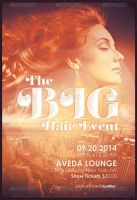 The Big Hair Event Flyer Template by loswl