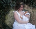 APH Ancient Greece and baby!Greece cosplay by Bakeneko14