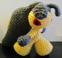 Mawile Crochet Pokemon by NerdyKnitterDesigns