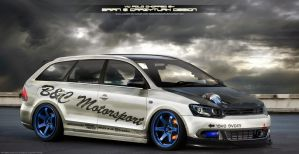 VW Polo teamchop by CrazyTurk