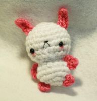 Pink Bunny 02 by tinyowlknits
