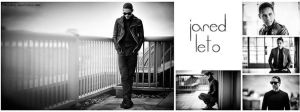 Black/white Fb Cover Jared Leto by lovelives4ever