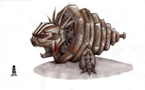 9 creature contest entry TWO by GG-lover