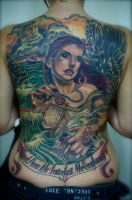 backpiece angel finish by tattooneos