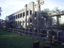 An old Building in Corregidor by clyder