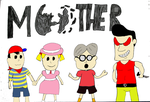 Mother/EarthBound Zero Characters by AwesomeSauceShaun
