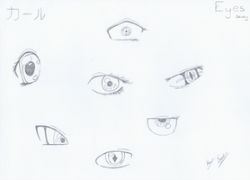 Anime Eye Study by Survivalise