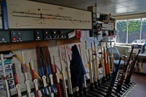 The Signal Box Of Shaw by robertbeardwell