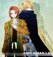 Symphoria NPCs: Cain and K by tooaya