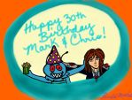 Happy Birthday Mark And Chris 2016 by youlittlemonkey