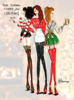 Christmas with girls! by DsBerries