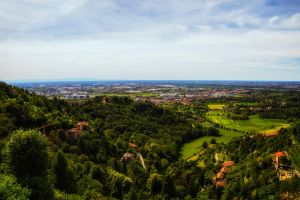 A daily view from Bergamo by qwstarplayer