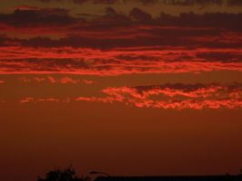 Hell's Sunset by CheshireGrrrl
