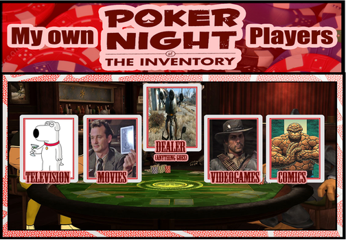Poker Night At The Inventory Meme (My Picks) by derekmetaltron