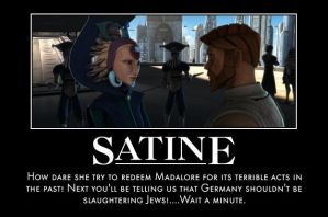 Satine and Mandalore motivational by jswv