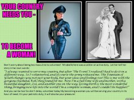 Your Country Needs You to Become a Woman: 2 by p-l-richards