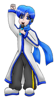 Kaito concert colored by MikariStar