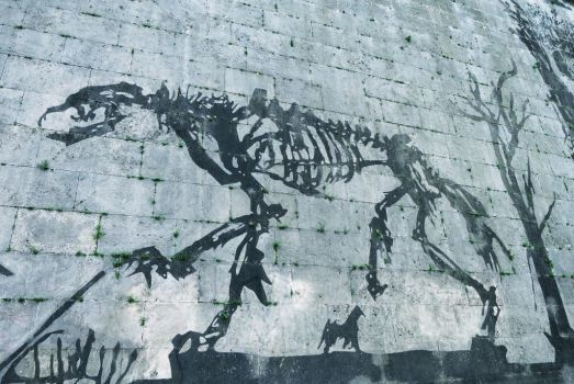 'Triumphs and Laments' by William Kentridge, Rome by fables1111