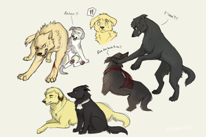 Attack on Titan Dogs Dump6 by Zencelot