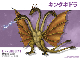 King Ghidorah by CyRaptor