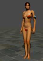 Nude Chell! by anorexianevrosa