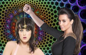 Katy Perry hypnotized by Kim Kardashian by theeyeshavehills