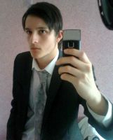 me in 6th Form Suit by Galbatore