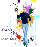 Steve Jobs by Chadzime