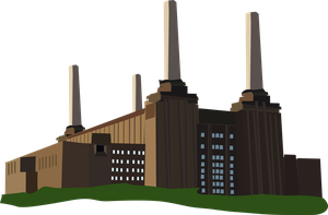 Giant Coal Power Plant by OceanRailroader