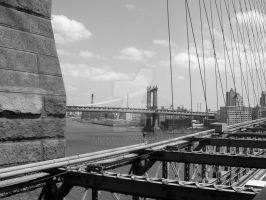 view from brooklyn bridge by nyx1564