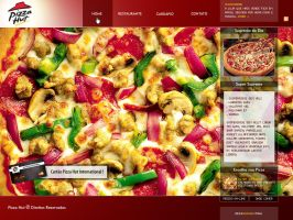 Pizza Hut Brazil - RJ by zecadesign