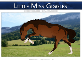 6163 DHC Little Miss Giggles by bedfordblack