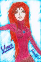 Jack's Snow Angel:ROTG OC: Venus (Update!) by PeaceGrrl