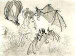 Attacked by Bats by CindarellaPop