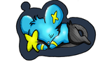 Poke-Charm Shinx by VidFox