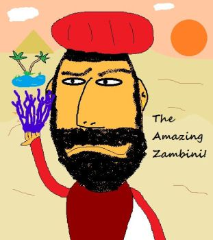 The Amazing Zambini! by Seymour-Bosums